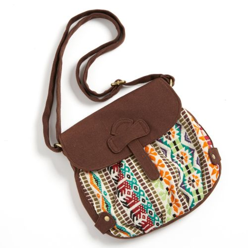 Boho Chic Multicolour Cross Body Bag